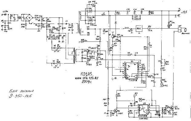 Заменена микросхема LM358.  Блок питания заработал в стандартном режиме.  Осталось протестировать под нагрузкой.